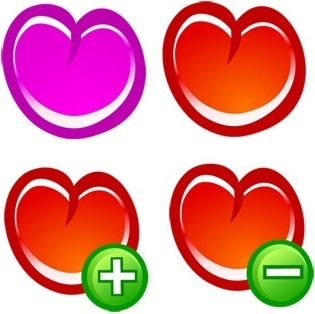 love icons isolation heart shape design colorful sketch