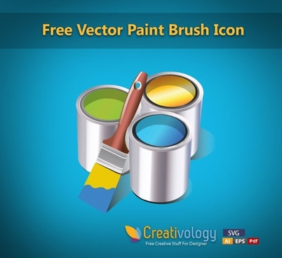 painting work background shiny 3d icons decor