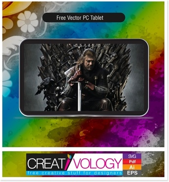 Free Vector Pc Tablet