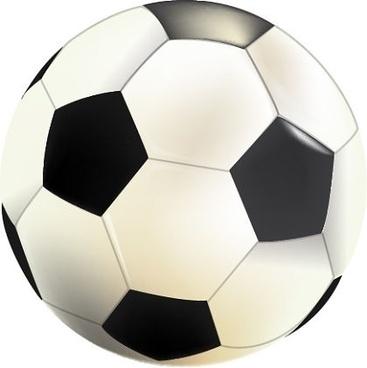 soccer ball icon design closeup realistic style