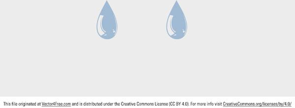 free vector water drop