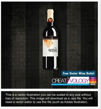 wine advertising banner shiny realistic design