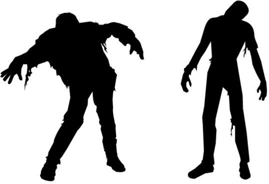 FREE VECTOR ZOMBIES � HALLOWEEN