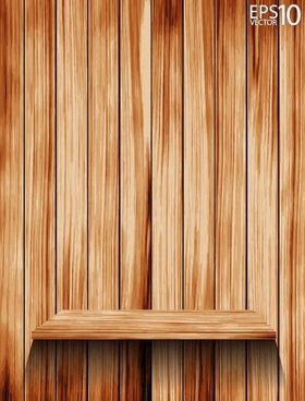 Free Wood vector background