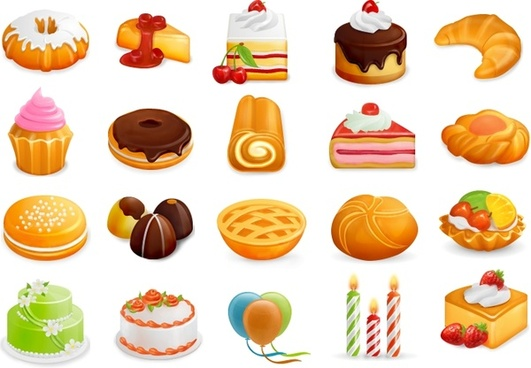 Free Yummy Icons Set icons pack