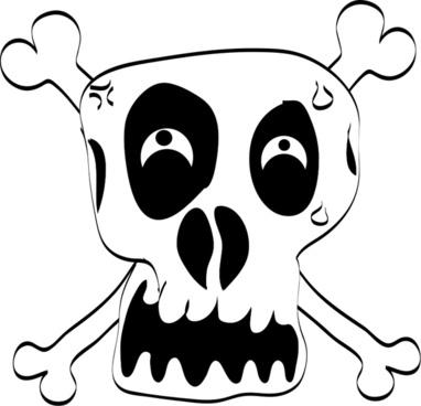 Freehand Funny Skull