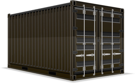 freight container design vector