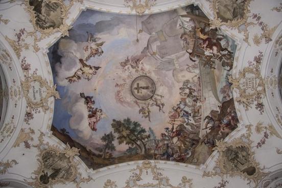 fresco baroque church