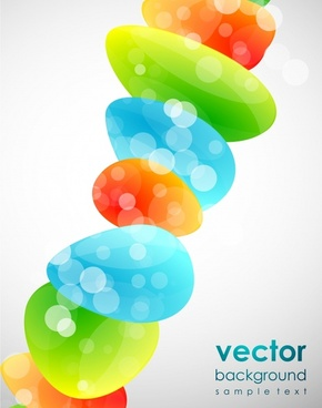 abstract background colorful bokeh design stone stacks icon