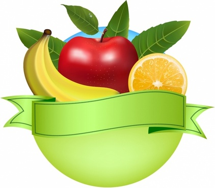 Fresh fruit banner