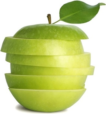 fresh green apples picture