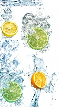 fresh lemon a lot of highdefinition picture 4p