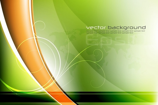 fresh poster vector background