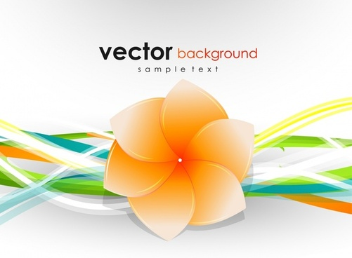 flower background modern colorful 3d closeup design