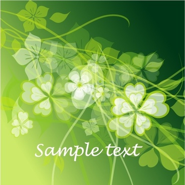 fresh summer flowers vector background 3 mirage