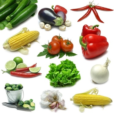 fresh vegetables and highdefinition picture 1