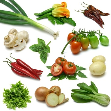 fresh vegetables and highdefinition picture five