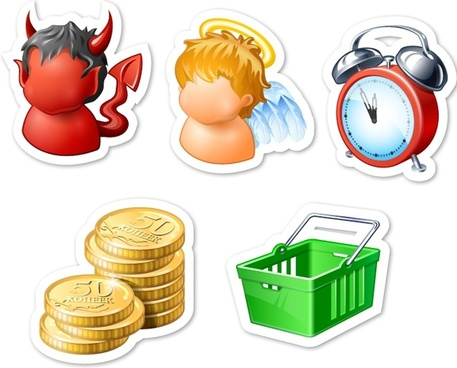 Fridge Magnets Icons icons pack