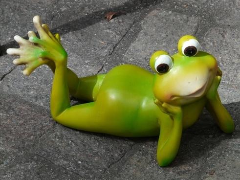 frog fig ceramic