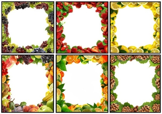 fruit borders 01 hd pictures