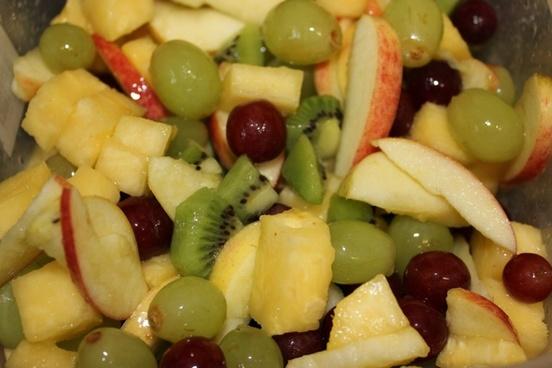 fruit cocktail salad