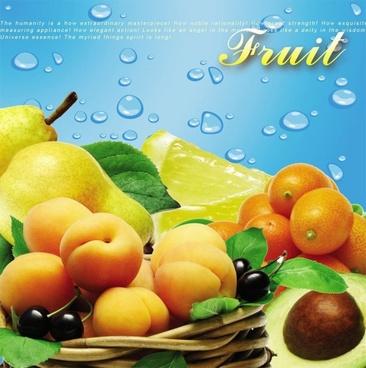 fruit psd layered