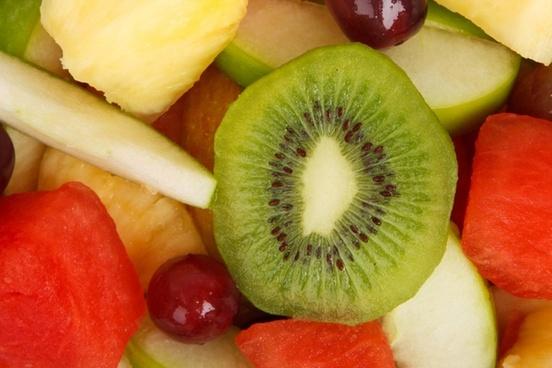 fruit salad background