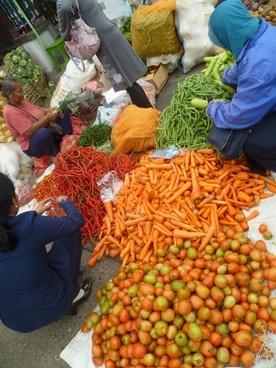 fruit vegetables market