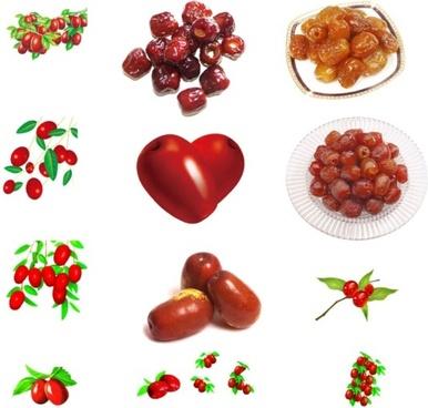 fruits sd psd layered