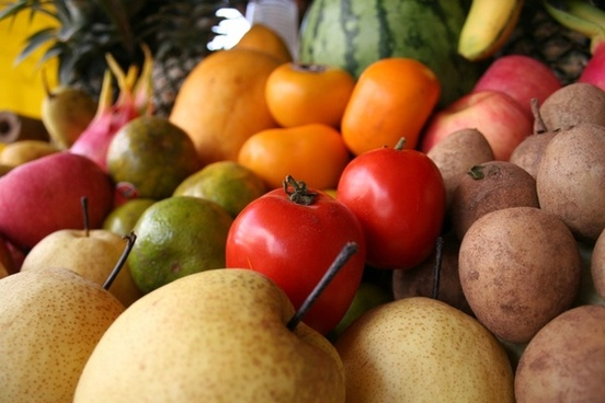 fruits vegetable food
