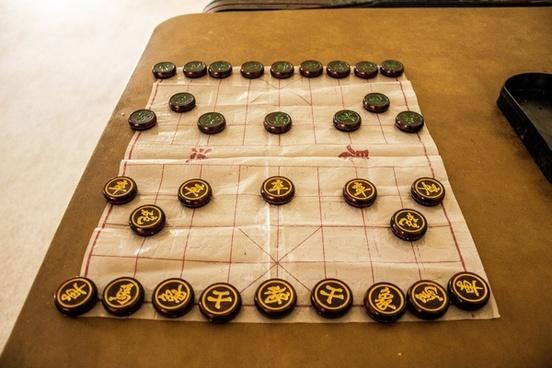 full chinese chess board