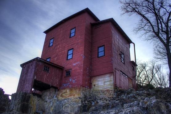 full view of the mill at dillard mill missouri