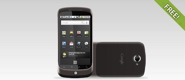 Fully Layered Google Nexus One Phone