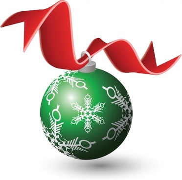 christmas bauble icon modern 3d design