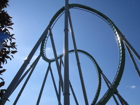 fun playing amusement park