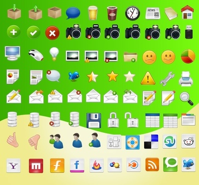 Function Free Icon Set icons pack