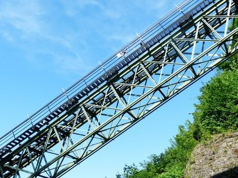 funicular railway train fortress