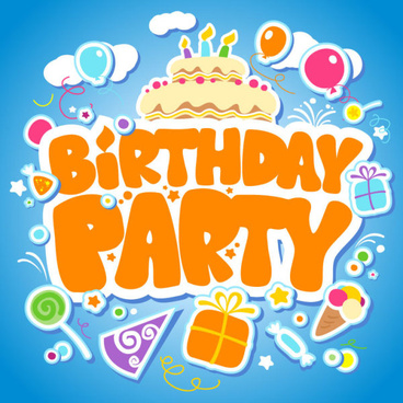 Cute Cartoon Happy Birthday Free Image Free Vector Download 22763