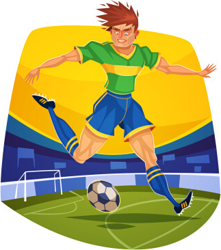 Funny sports clipart free vector download (7,649 Free ...