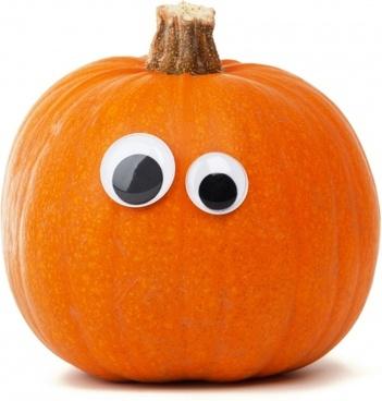 funny pumpkin face