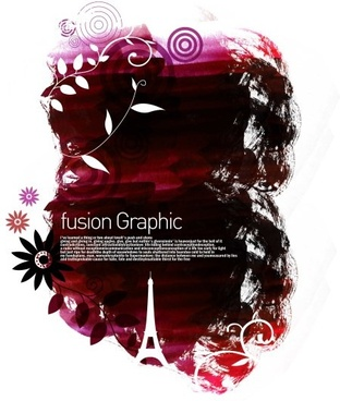 fusion graphic series fashion pattern 11