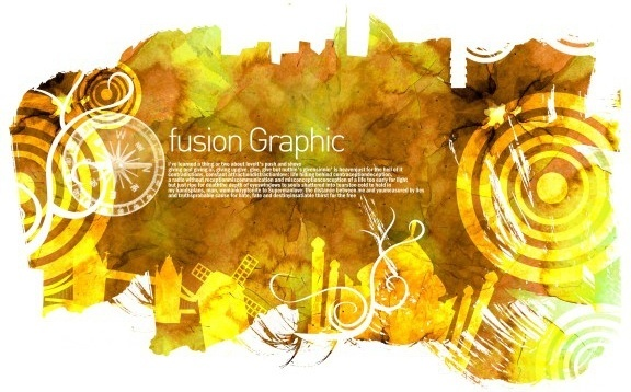 fusion graphic series fashion pattern 14