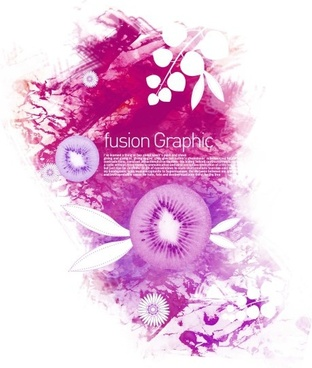 fusion graphic series fashion pattern 16