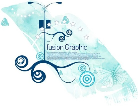 fusion graphic series fashion pattern 18