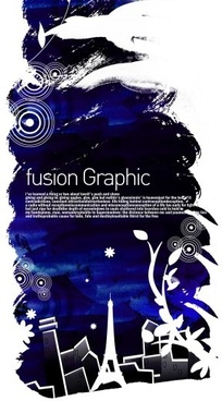 fusion graphic series fashion pattern 1