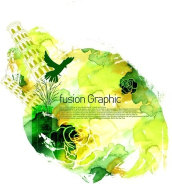 fusion graphic series fashion pattern 20