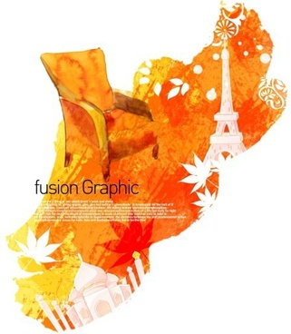fusion graphic series fashion pattern 24