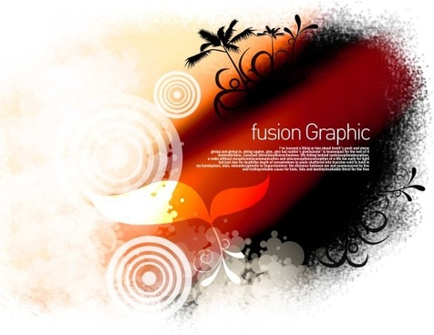 fusion graphic series fashion pattern 9