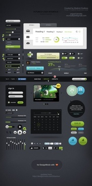 futurico user interface pro awesome ui