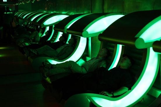 futuristic chairs